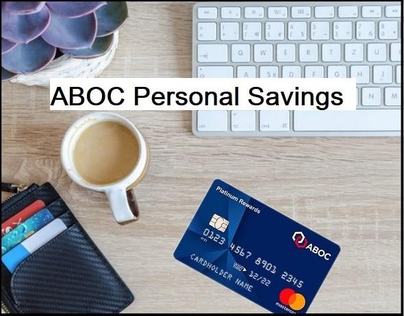 ABOC: Personal Savings