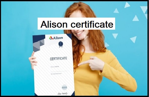 Is it possible to discover a job with an Alison certificate?