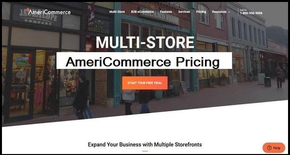 AmeriCommerce: Pricing