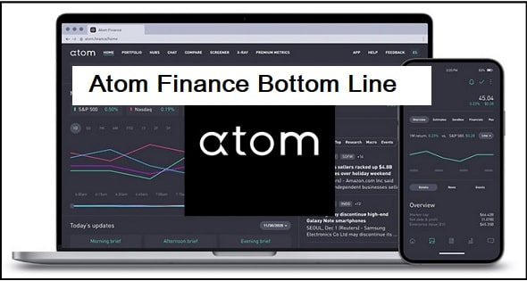 The Bottom Line, is atom finance value for money?