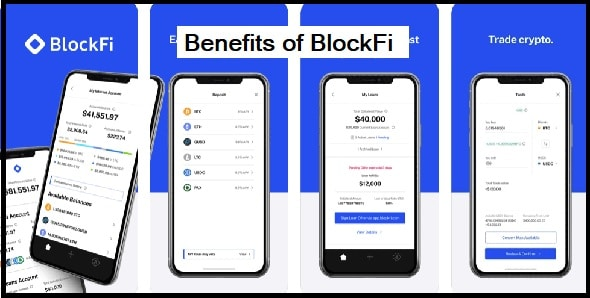 Features and Benefits of BlockFi
