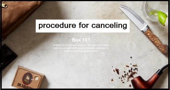 What is the procedure for canceling