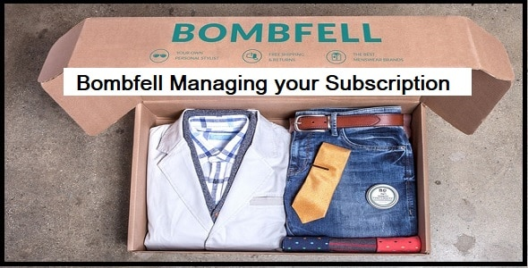 Managing your Subscription
