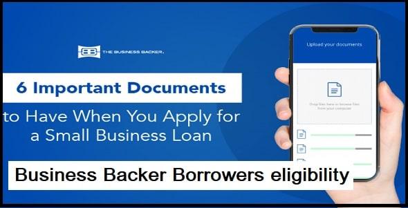 Borrower's eligibility