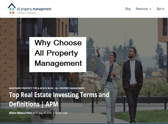Why Choose All Property Management?
