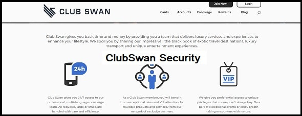 ClubSwan: Security