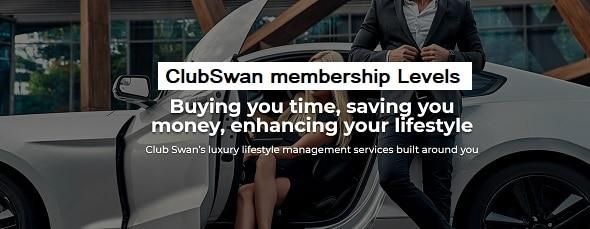 ClubSwan membership: Levels