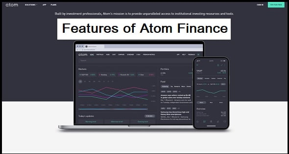 Features of Atom Finance