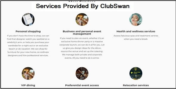 What Are The Services Provided By ClubSwan?