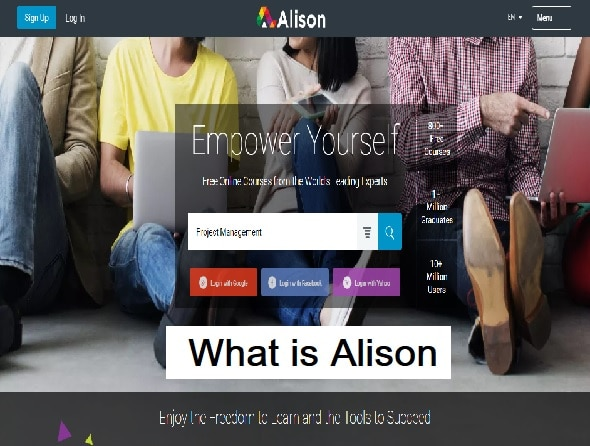What is Alison?