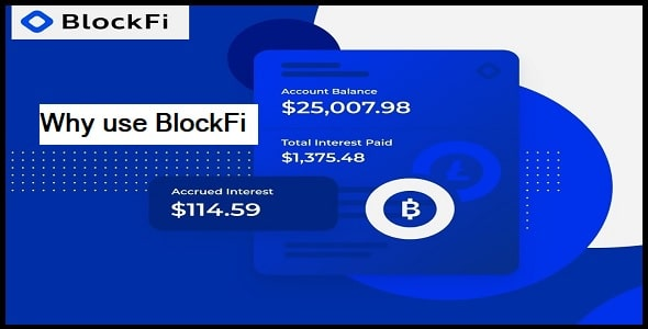 Why should you use BlockFi
