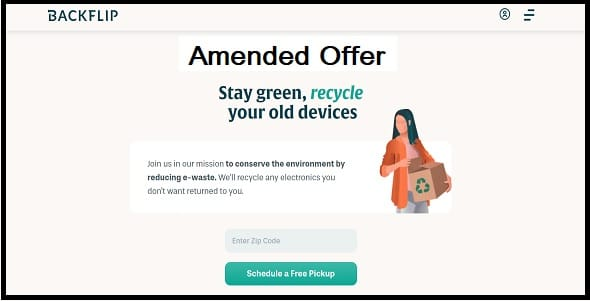 What is an amended offer