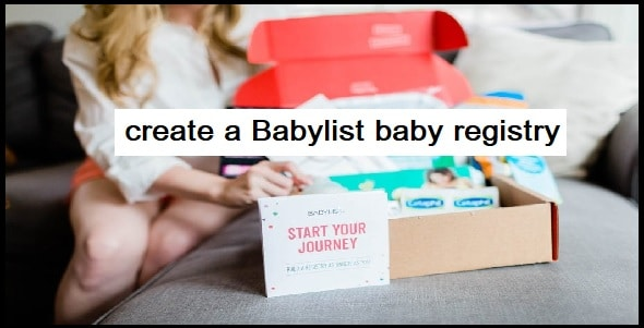 How to create a Babylist baby registry