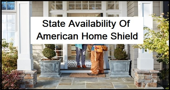 State Availability Of American Home Shield