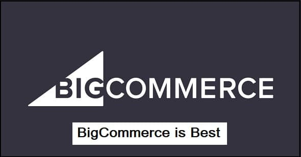 BigCommerce is Best for..