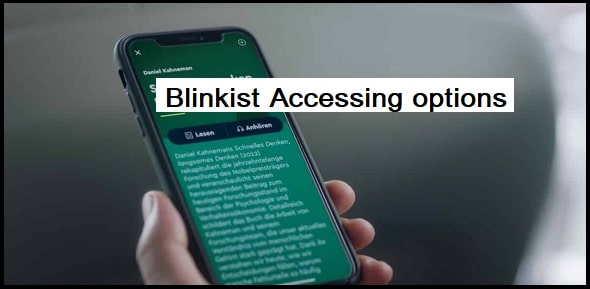 Accessing options