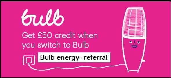Bulb energy- referral