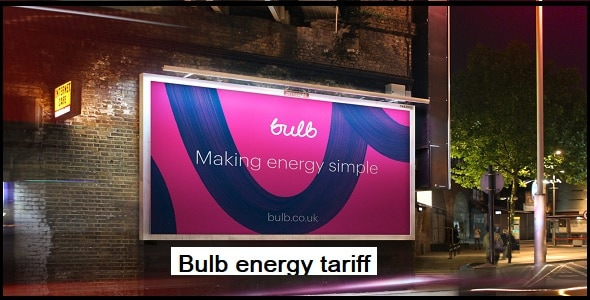 Bulb energy tariff