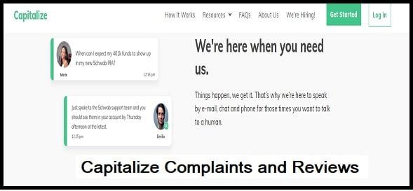 Complaints and Reviews