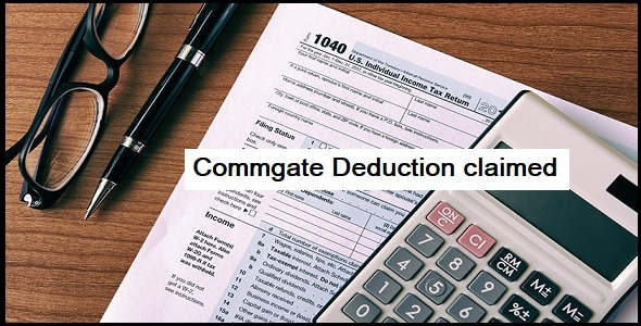 Deduction claimed