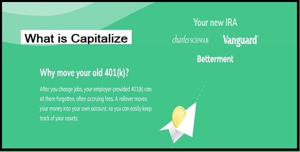 What is Capitalize?
