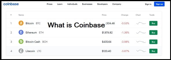 What is Coinbase