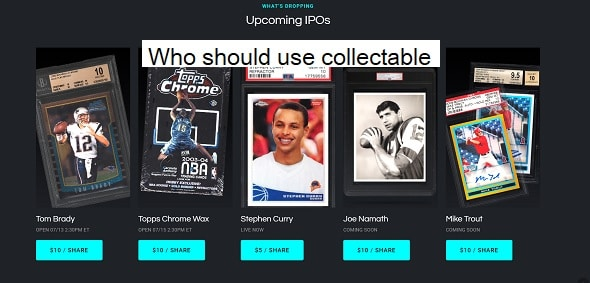 Who should use collectable