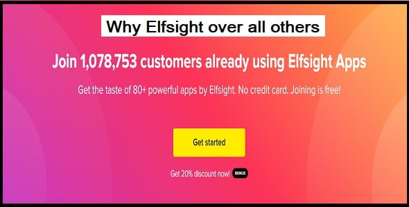 Why Elfsight over all others