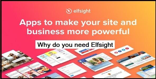Why do you need Elfsight